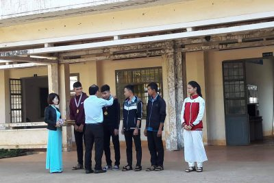Lễ trao thưởng cho giáo viên hướng dẫn và học sinh đạt huy chương Hội Khỏe Phù Đổng cấp Tỉnh 2018